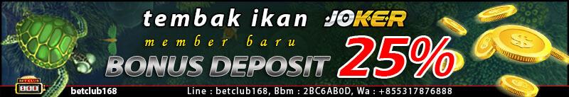 Judi Ikan Joker123 Bonus Besar